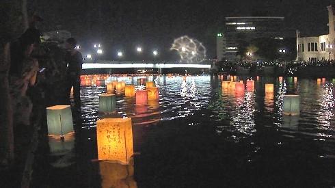 広島 とうろう流しの画像4