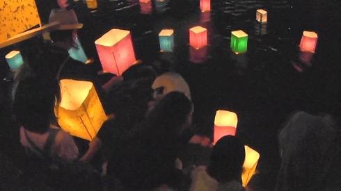 広島 とうろう流しの画像3