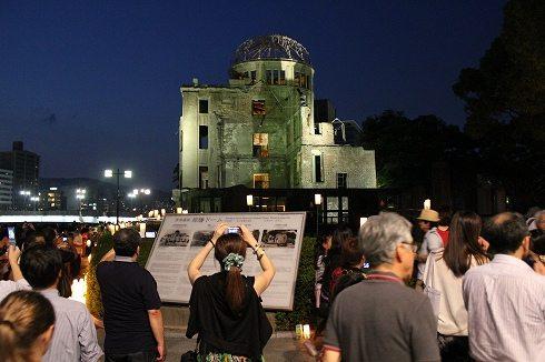 広島 とうろう流しの画像10