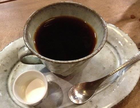 円座 仕込み水で淹れたコーヒー