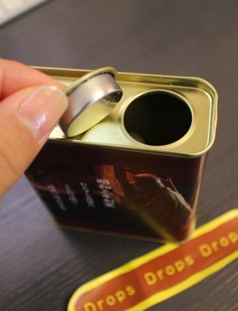 青きな粉ドロップス 缶の画像2