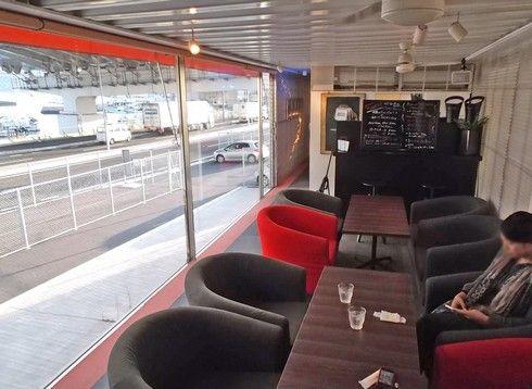 カフェ ガルリ 店内の様子