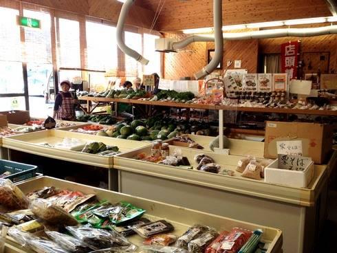 マロンの里 野菜売り場のコーナー