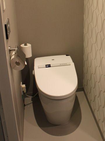 独立しているトイレ
