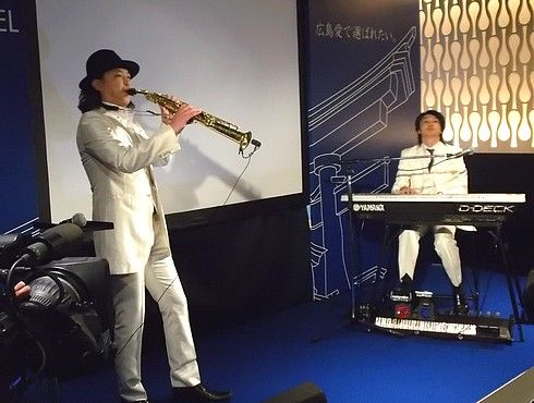 広島県出身の音楽家・大瀬戸千嶋(おおせどちしま)