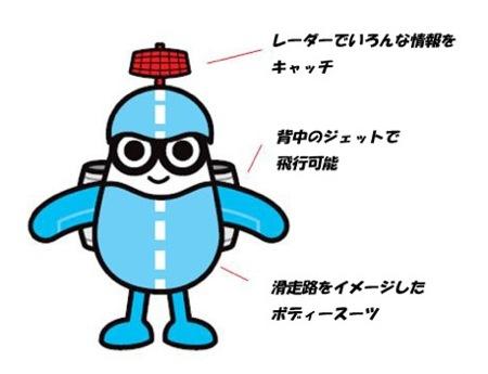 ソラミィ、空の安全を見守る 広島空港のキャラが誕生!