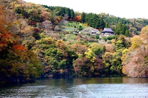 帝釈峡 遊覧船からの景色2
