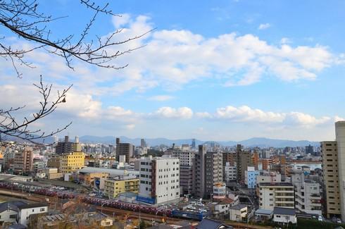 旭山神社からの眺め