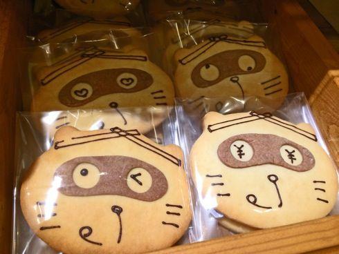 菓子工房 mike、東広島キャラ のん太ビスケットがかわいい