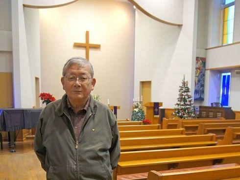 東広島市 ルーテル教会の鐘ヶ江牧師