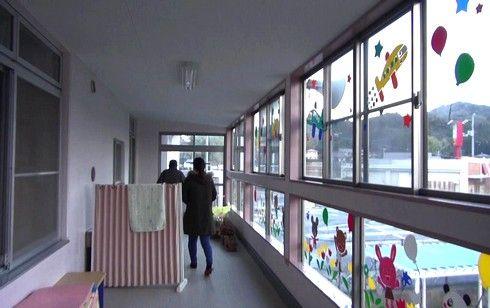 ケネディの鐘を見に、ルーテル幼稚園2階へGO
