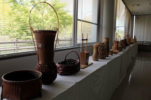 バンブージョイハイランド 竹の展示室