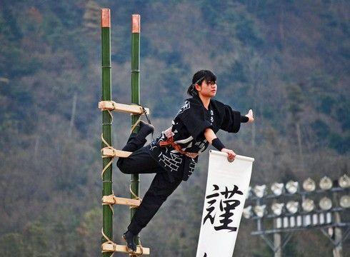 熊野町消防出初式!公開訓練や はしご乗り披露など、新春恒例行事