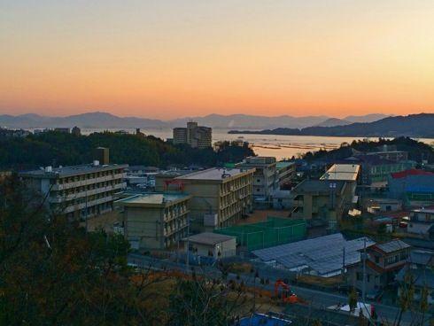 宮島からの朝日の画像3