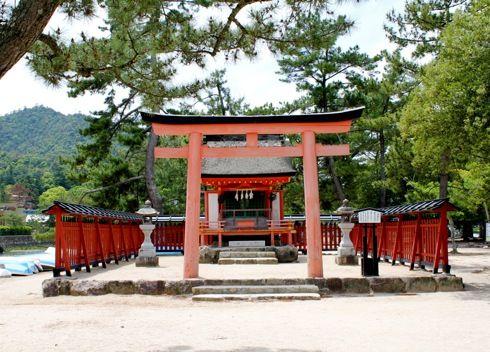 清盛神社、清盛の偉大な功績を称えた隠れスポット