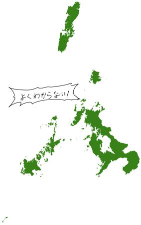 よくわかる長崎県 地図