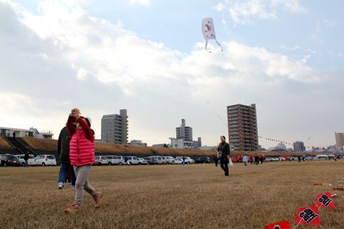 凧揚げ 画像2