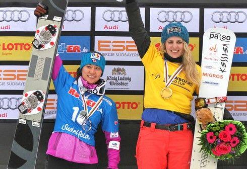 竹内智香 スノーボードパラレル初銀メダルおめでとう!