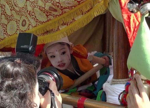 三原 ふとんだんじり(能地春祭り) 神童の画像