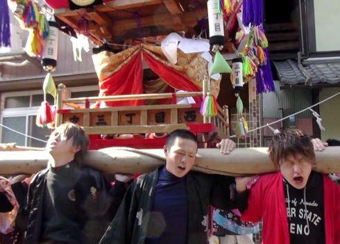 三原 ふとんだんじり(能地春祭り) の画像