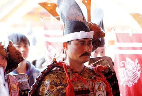 宮島清盛まつり、前田智徳の甲冑姿がキマりすぎ!