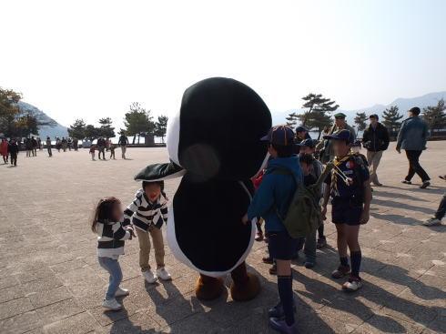宮島水族館のアルくん 画像