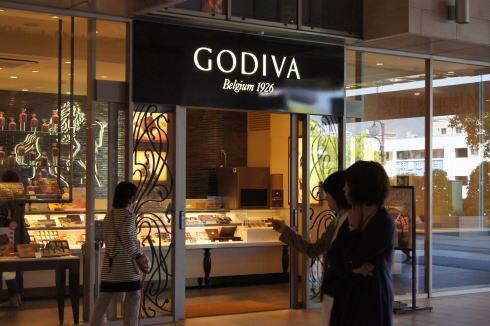 ゴディバ(Godiva)がアルパークにオープン、ソフトクリームはお預け
