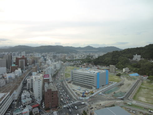 工事が続く 広島駅前開発 画像2