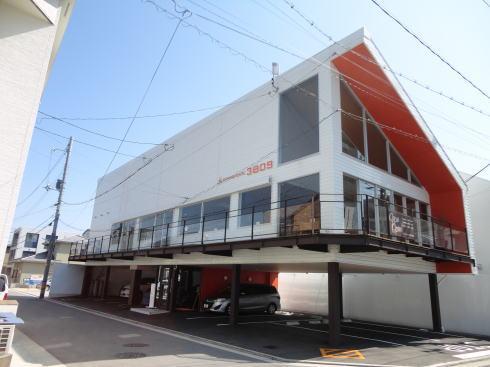 ダイニングカフェ 3809(ミヤオク)、段原の住宅街のレストラン