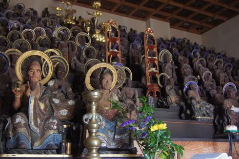 尾道 天寧寺 五百羅漢の画像