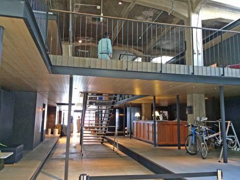 Onomichi U2(尾道U2) ホテル入口