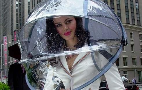 雨の日が待ち遠しくなっちゃう、面白傘いろいろ!