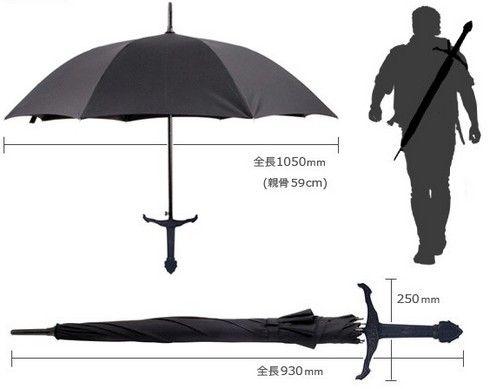 サムライ傘 面白