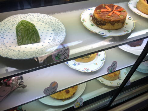 ルフランの野菜ケーキたち
