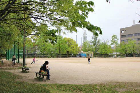 千田公園 多目的広場