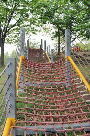 千田公園 アスレチック画像6