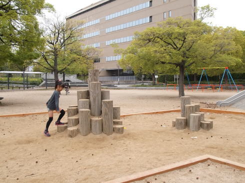 千田公園 砂場