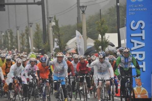サイクリングしまなみ、しまなみ海道がサイクリストで溢れる国際イベント