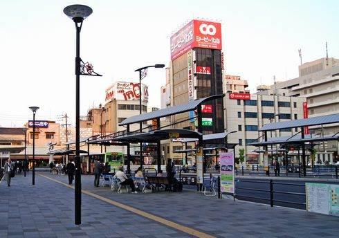 福山駅 バス乗り場