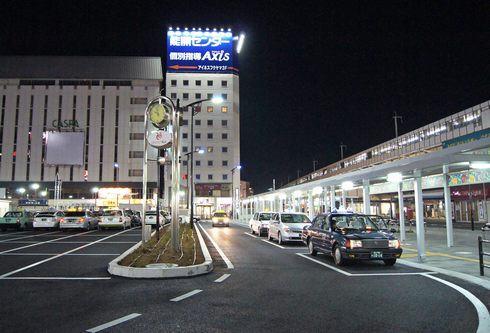 福山駅の夜景