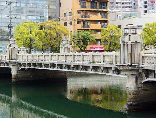 京橋、広島市南区の鋼橋