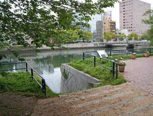 京橋川の雁木1