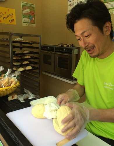 世界で2番めにおいしい焼きたてメロンパンアイス、宮島にも