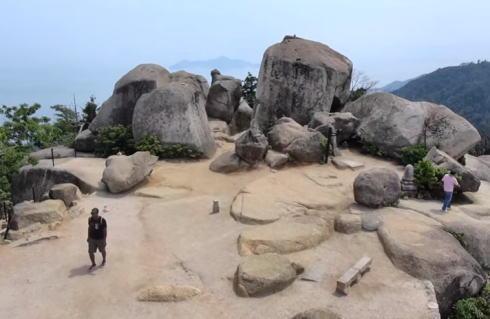 宮島 弥山から歩いて下山!大聖院コースの風景と山頂までの道のり