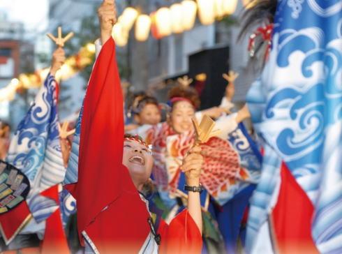 福山市で毎週土曜はお祭り騒ぎ!ふくやま毎土夜店、舞土YOSAKOI