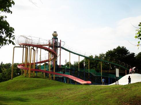 県立みよし公園、スポーツセンターと公園が合体した穴場スポット