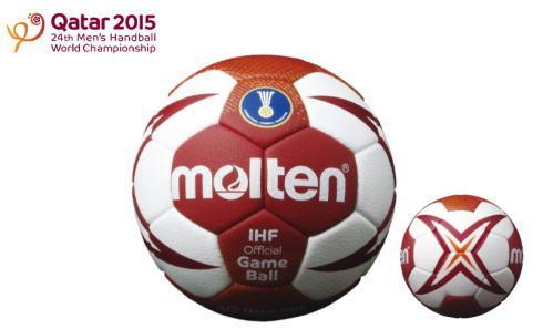 モルテンがハンドボール世界選手権2015公式球へ!専用デザイン