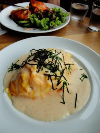 海カフェ Nejiro(ネジロ) ランチ オムライス1