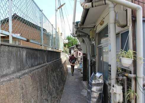 持光寺への道のり