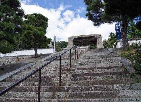 持光寺の石門
